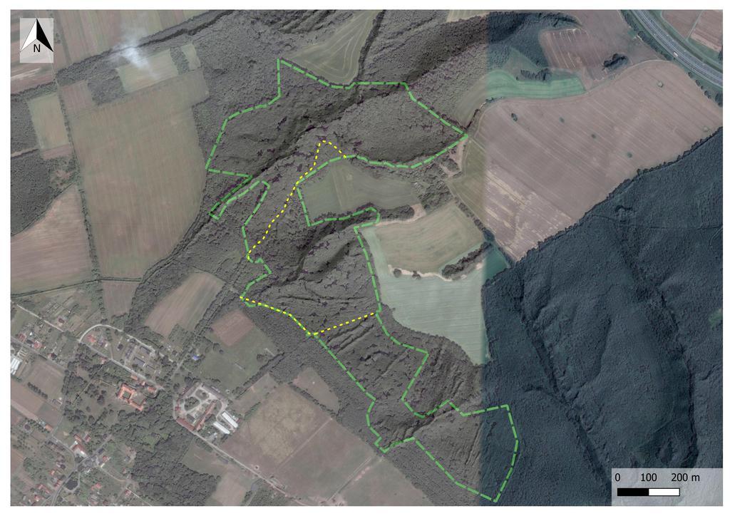 udostępnione szlaki w RP Lesisko