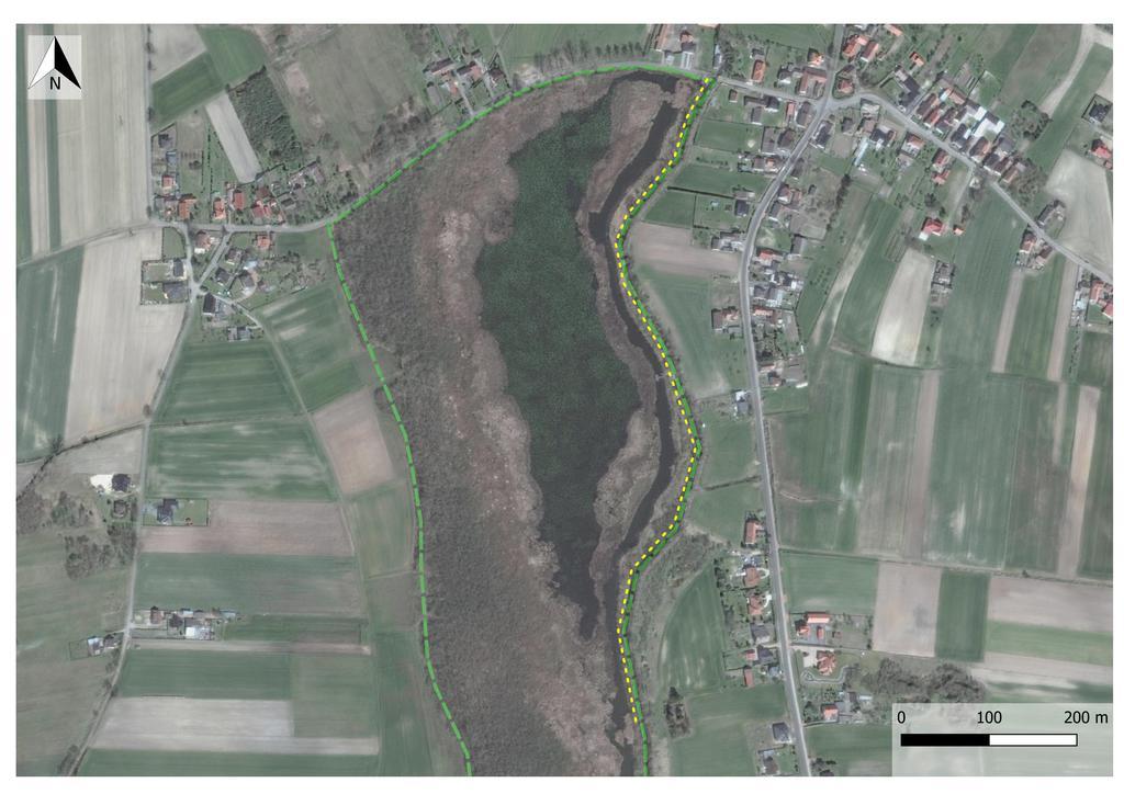 udostępniony szlak w RP Staw Nowokuźnicki
