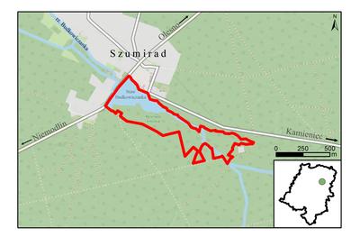 Rezerwat przyrody Smolnik, źródło: RDOŚ Opole